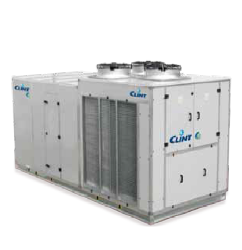 Roof Top, condensing units, fan coil units and supervision systems.